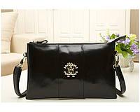 Клатч - сумка Roberto Cavalli black (AV)