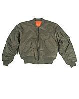 Куртка лётная MA1 США, olive  Sturm Mil-Tec