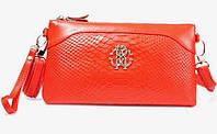 Клатч - сумка Roberto Cavalli (ярко оранжевый цвет)