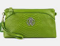 Клатч - сумка Roberto Cavalli (салатовый цвет)
