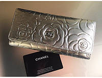 Женский кошелек Chanel (61734) silver