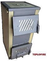 Твердотопливный котел с плитой Огонек КОТВ мощностью 20П