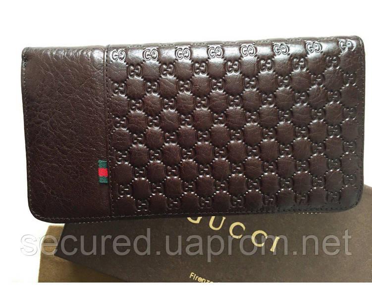 Женский кошелек Gucci (138030) brown - secured.in.ua интернет-магазин в Киеве