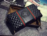 Женский кошелек Gucci (309705) black