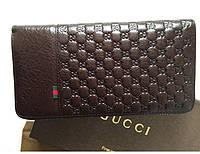 Мужской кошелек Gucci (138030) brown