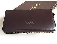 Мужской кошелек Gucci (382418) brown
