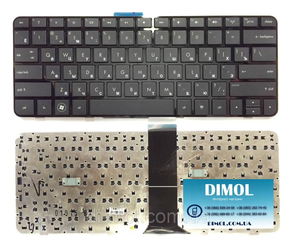 Оригинальная клавиатура для HP Compaq Presario CQ32, Pavilion dv3-4000 series, black, black frame, ru