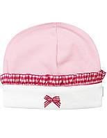 Шапочка для девочки:цвет -розовый,размер-37,0-1 мес