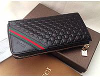 Мужской кошелек Gucci (6306896) black