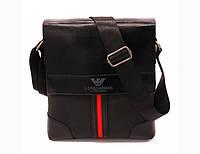 Мужская сумка Giorgio Armani black 701