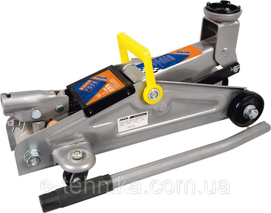 Домкрат гидравлический гаражный Miol (80-110)