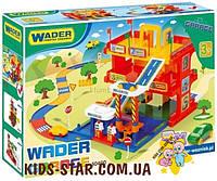 Детская игрушка парковка Гараж с дорогой Wader (50400)