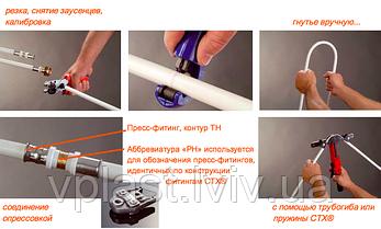 Cuprotherm CTX Мідна труба в пластиковій (PERT) оболонці 14x2 мм, фото 2