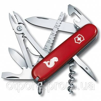 Нож швейцарский Victorinox Swiss Army Angler красный - Интернет-магазин ОТПОР  в Киеве