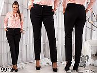 Женские осенние брюки,  большие размеры ( р. 48-54 )