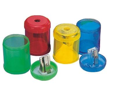 Точилка для карандашей   пластиковая с контейнером  Умка