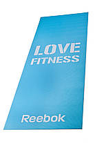 Коврик Reebok RAMT-11024BLL для фитнеса и йоги 1730x610x4 мм, фото 2