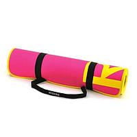 Коврик Reebok для аэробики и фитнеса (розовый) 1730х610х6 мм