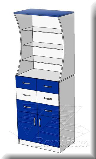 Шкаф для аптеки пристенный