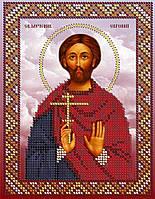 Схема для вышивки бисером Св. Мученик Евгений
