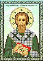 Схема для вышивки бисером Св.Муч. Валентин Интерамский