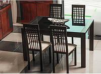 Стол стекляный SOLANO обеденный раскладной