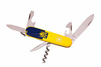Нож швейцарский Victorinox Swiss Army Spartan желто-голубой