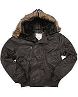 Куртка летная N2B США (Аляска), black  Sturm Mil-Tec