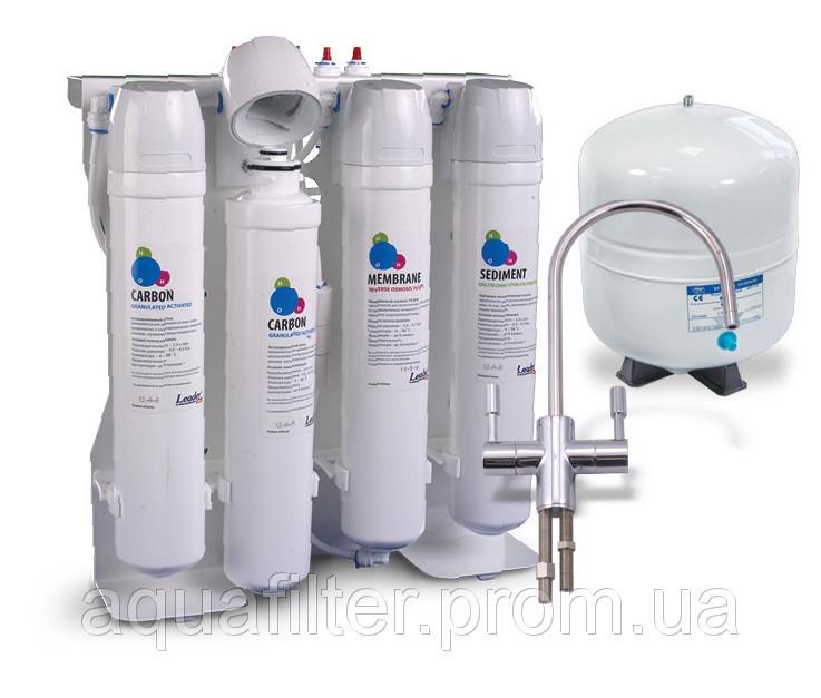 Фильтр обратного осмоса с минерализацией Leaderfilter Comfort RO-75G МТ18