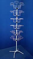 Вертушка для головных уборов с круглыми кронштейнами (42 кр.), фото 1