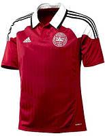 Футболка мужская Adidas  сборной Дании по футболу 2012-14