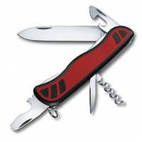 Нож швейцарский Victorinox Nomad черно-красный