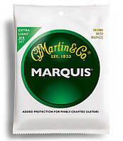 Струны MARTIN M1000 Marquis 80/20 Bronze Extra Light (10-47)