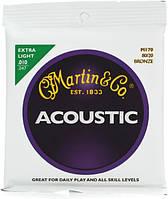 Струны MARTIN M170X Traditional Acoustic 80/20 Bronze Extra Light (10-47)