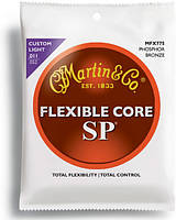 Струны MARTIN MFX775 SP Flexible Core 92/8 Phosphor Bronze Custom Light (11-52)