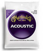 Струны MARTIN M535 Traditional Acoustic 92/8 Phosphor Bronze Custom Light (11-52)