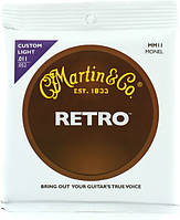 Струны MARTIN MM11 Retro Custom Light (11-52)