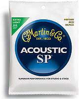 Струны MARTIN MSP3000 SP Acoustic 80/20 Bronze Extra Light (10-47)