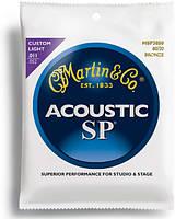 Струны MARTIN MSP3050 SP Acoustic 80/20 Bronze Custom Light (11-52)