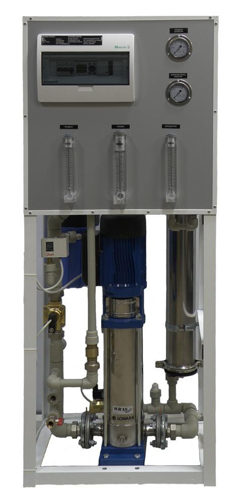 Промышленный осмос высокой производительности Aqualine ROHD 40401 ECO без мембраны
