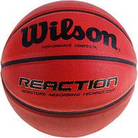 Баскетбольный мяч Wilson REACTION SZ6 BASKTBALL SS14