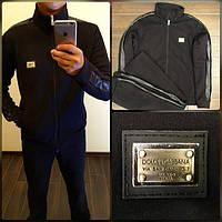 Костюм спортивный ,Ткань: турецкая трех нитка-трикотаж , значок - метал на коже Dolce & Gabbana роле №1015