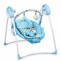 Кресло-качалка для детей Baby Mix SW108-007-B (голубой)