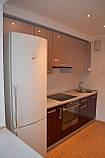 Стильная угловая кухня из МДФ, кухонная мебель под заказ, фото 4