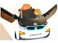 Детский Электромобиль OPT-BK-BMW RX5188 (Кожаное Сиденье Колеса EVA)