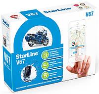 Автомобильная сигнализация StarLine Moto V67