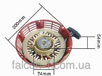 Стартер для двигателей Honda GX340, GX390 - металлический захват (зацепление с чашкой)