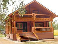 Деревянный дом под ключ, 80кв.м.