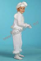 Карнавальный костюм Зайчик белый, Заяц, Беляк, Зайка, Зайчонок, Кролик