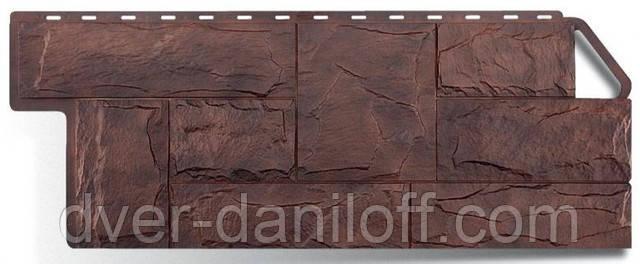 Цветовая гамма фасадного (цокольного) сайдинга Альта-профиль коллекции Гранит Альпийский